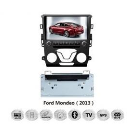 Sale Knockoff Ford Fusion 2013~2014 - Car GPS Navigation DVD Player Radio Stereo S100 Multimedia System (1 A/C)