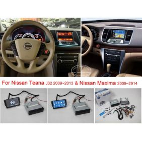 Sale Knockoff For NISSAN Teana J32 / Maxima 2008~2013 - Car DVD Player GPS NAVI Navigation System + BT USB AUX HD Touch Screen Multimedia